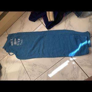 blue hollister sweatpants